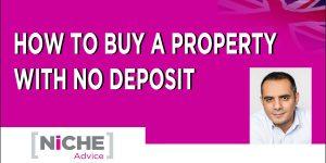 No deposit mortgage