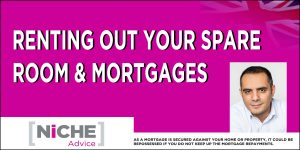 Renting a Room and mortgages