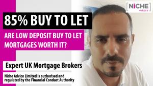 low deposit buy to let mortgage