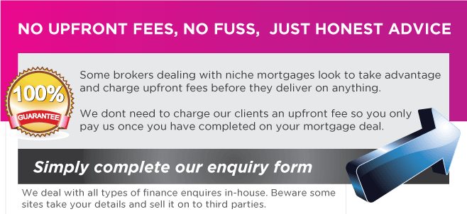Self Employed 1 Years Account Mortgage fees