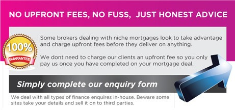 no up front mortgage fees