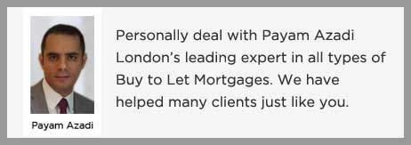 Buy to Let Mortgage no Exit fees Payam