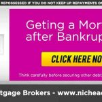 Discharged Bankrupt Mortgage