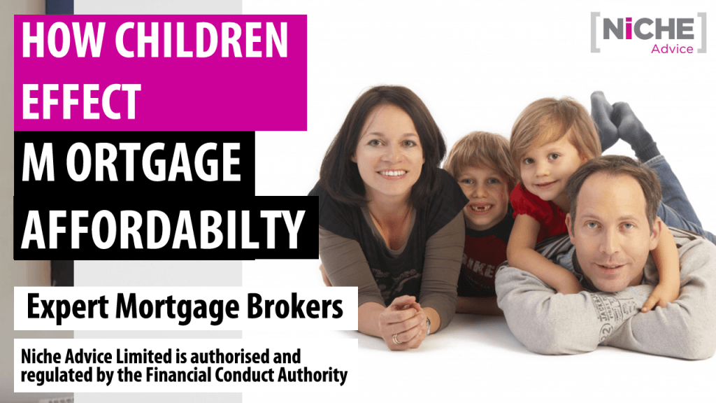 How children affect mortgage applications